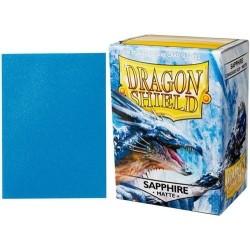 Folios Cartas X100 Dragon Shield Sapphire Matte