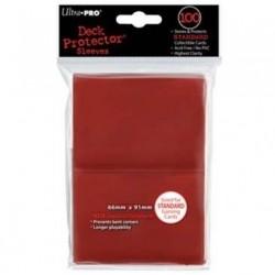 Folios Cartas X100 Std Ultra Pro Rojo
