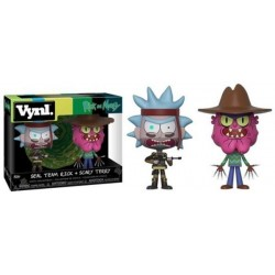 Funko Pop Vynl- Rick And Morthy - Seal Rick And Scary Terry
