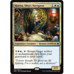 Hanna, Ship´s Navigator
