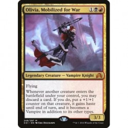 Olivia Mobilized For War