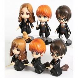 Set 6 Figuras Chibis Harry Potter (precio X Unidad)