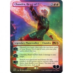 Chandra, Heart Of Fire (borderless) Foil
