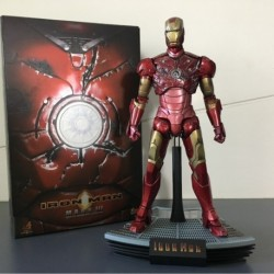 Hot Toys Mms 110 Iron Man Mark Iii 3 Battle Damaged Version