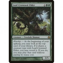Leaf-crowned Elder