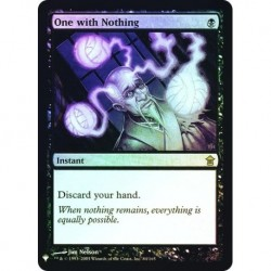 One With Nothing Foil