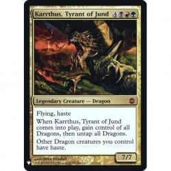 Karrthus, Tyrant Of Jund (foil)