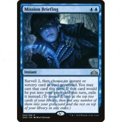 Mission Briefing (foil)