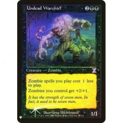 Undead Warchief Foil