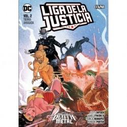 Liga De La Justicia Vol.2: Tierra Ahogada