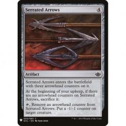 Serrated Arrows