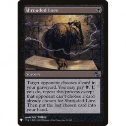 Shrouded Lore