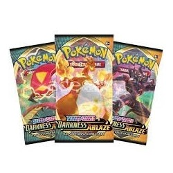 Booster Pokemon Darkness Ablaze