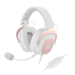 Auricular C/mic Gamer H510 Zeus 2 White