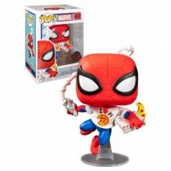 Funko Pop 672 Spider-man - Peter Parker W/pi Shirt