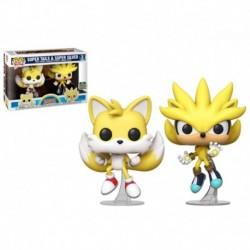 Funko Pop Vynl- Sonic - Super Tails & Super Silver
