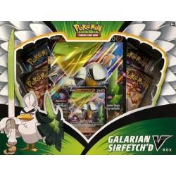 Pokemon Galarian Sirferchid V Box
