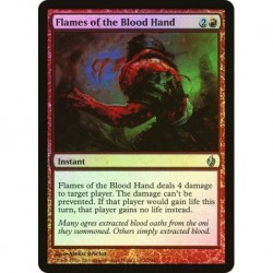 Flames Of The Blood Hand (foil)