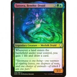 Tatyova, Benthic Druid (foil)