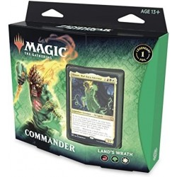 Mazo Magic Commander Zendikar Rising Ira De La Tierra