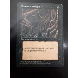Evil Presence (black Border)