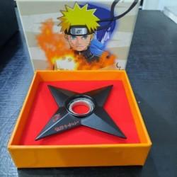 Shuriken Estrella Metal Naruto Negro