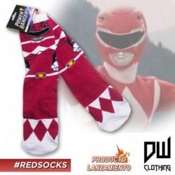 Medias Largas Power Ranger Rojo