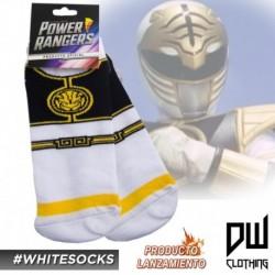Medias Power Ranger Blanco