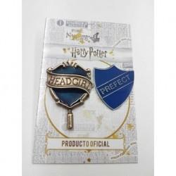 Dijes Hp Pin Headgirl + Prefecto Ravenclaw