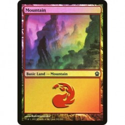 Mountain (242) (foil)