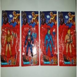 Set X4 Personajes Master Of The Universe