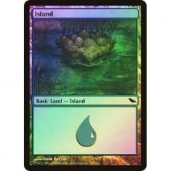 Island (286) (foil)