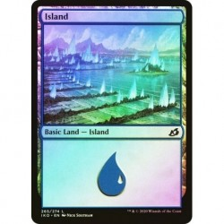 Snow-covered Island (278) (foil)