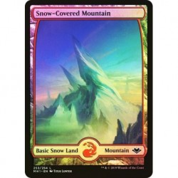 Snow-covered Mountain (253) (foil)