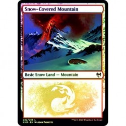 Snow-covered Mountain (282) (foil)