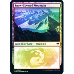 Snow-covered Mountain (283) (foil)