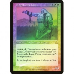 Mageta The Lion (foil) Played