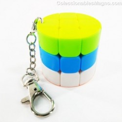 Cubo 3x3 Llavero Cilindro