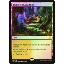 Temple Of Abandon Foil