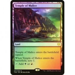 Temple Of Malice Foil