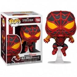Funko Pop 766 Marvel´s Spider-man Miles Morales (s.t.r.i.k.e. Suit)