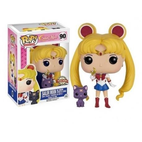Funko Pop 90 Sailor Moon W/moon Stick