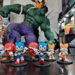 Gashapones Sonic 6 Modelos