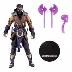 Mortal Kombat Sub Zero Winter Purple Variant Mcfarlens Toys