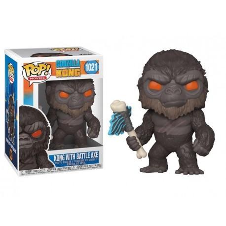 Funko Pop 1021 Godzilla Vs Kong - Kong With Battle Axe