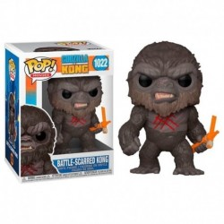 Funko Pop 1022 Godzilla Vs Kong - Scarred Kong
