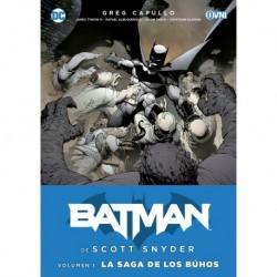 Batman De Scott Snyder Vol. 1: La Saga De Los Búhos