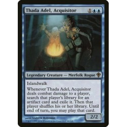 Thada Adel, Acquisitor