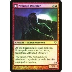 Afflicted Deserter // Werewolf Ransacker (foil)