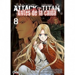 Attack On Titan :antes De La Caida 08